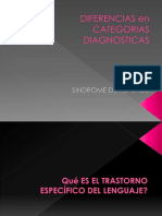 Diferencias Categorias Diagnosticas Tel y Sa