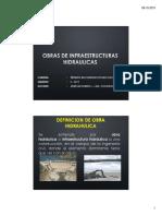 Ppt Obras Hidraulicas - Prueba 11-10-2019