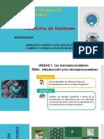 Tipos de encapsulamiento y evolucion de los microprocesadores
