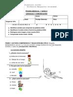 prueba 1° básico vocales