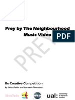 music video pre-production booklet  1