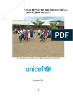 Final Evaluation Report International Inspiration Project