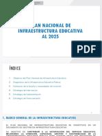 Plan Nacional de Infraestructura Educativa  PNIE 08.08.17 Huanuco