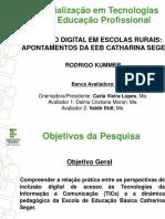 Apresentação TCC - Rodrigo Kummer