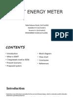 Smart Energy Meterproject