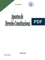 apunte derecho constitucional