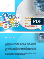Social media Marketing Strategy for Healthcare Domain
