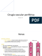 Clase 17, Cirugía Vascular Periférica