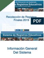 Registros Finales SIRE 2019