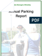 LB Bromley Parking Annual Report 2008-2009