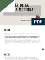 La Teoría de La Placiana Moderna