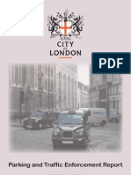 City of London _ParkingandTrafficReport20082009