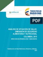 Análisis de Situación de Salud Dimensión SAN