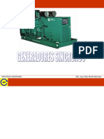 Principio de Funcionamiento de Los Generadores Sincronos