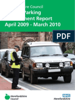Herefordshire Parking Annual Report