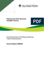 LB Islington Parking Annual Report 2008 09