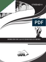 Manual de Derecho Romano Cap.8