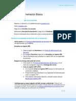 Live@Edu Basic Deployment Checklist Es-es