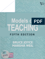 0 Models of Teaching - Bruce Joyce-Marsha Weil