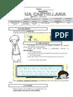Fichas Lengua Repaso Primer Trimestre 2º EP