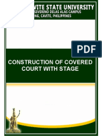 Bid Docs Construction of Covered Court With Stage