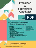 Freshman & Sophomore Plan