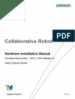 OMRON Cobot installation manual