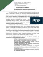 A Atuação Do Farmacêutico Frente Aos Cuidados Paliativos - Rick Manoel
