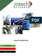 Eco tech brochure