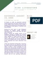 Philippine Literature_ II