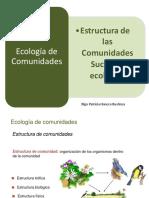 Ecologia de Las Comunidades Modelos Ecologicos