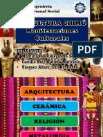 CULTURA CHIMU Manifestaciones Culturales Ok