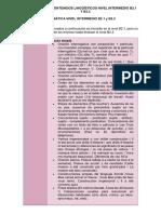 TABLA DE CONTENIDOS LINGÜÍSTICOS Francés NIVEL INTERMEDIO B2