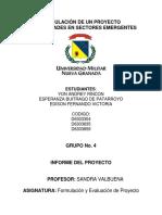 2. FORMULACIÓN DEL PROYECTO PRIMERA FASE