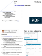 How to Book! - User Guide