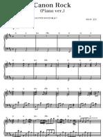 Canon Rock (Piano Version)