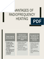 Slide Advantages of Radiofrequency Heating