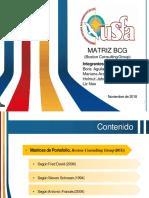 Matriz BCG - Expo Planificación Estratégica