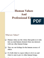 Human Value and Professional Ethics Unit 1