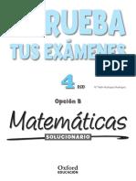 Matematica Solucionario Oxford