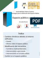 Presentación Servando Álvarez , Curso sostenibilidad urbana creativa