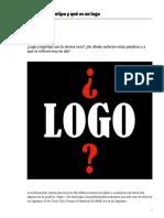 Que Es Un Logotipo y Que Es Un Logo