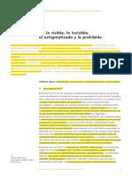 De Lo Viible e Invibiel- Fune