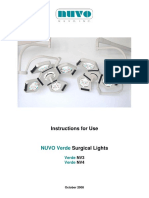 Nuvo Verde Nv3 Led Multi Imager Manual