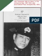 Isoroku Yamamoto - Alibi of a Navy_Willmott