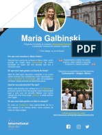 Maria Galbinski - University of Liverpool