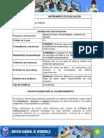 IE Evidencia Protocolo Aplicar Conceptos Base Datos Segun Requerimientos Empresa