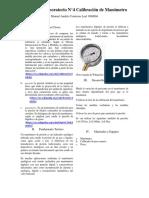 informe de laboratorio manometria