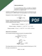 Estandarización de Una Solución de Hcl