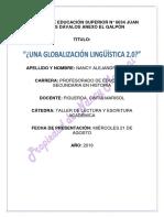 Globalización lingüística